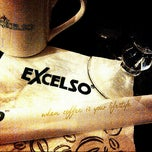 Photo taken at EXCELSO Café by Brinna K. on 7/9/2012