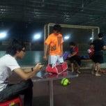 Photo taken at Galaxy Futsal Bangi by Nabil J. on 8/11/2012