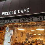 Photo taken at Piccolo Cafe by Allison M. on 4/8/2012