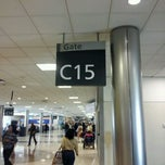 Photo taken at Concourse C by Laura L. on 4/30/2012
