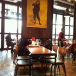 Photo taken at CAFE TOLIX by Eunyoung K. on 1/15/2012
