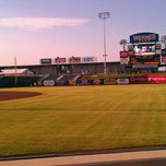 Photo taken at First Base Side by Jacqie A. on 8/31/2011