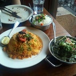 Photo taken at Brick Lane Curry House by Frank E. on 4/20/2012