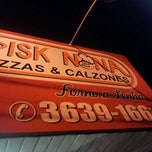Photo taken at Pizzaria Disk Nona & Calzones by William L. on 5/13/2012