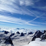 Photo taken at L'Aiguille du Midi (3842m) by Savvas S. on 8/14/2012