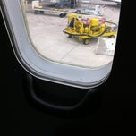 Photo taken at Gate B19 by Noelle on 4/10/2012