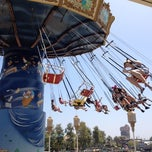 Photo taken at Silly Symphony Swings by Jared M. on 7/7/2012