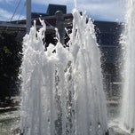 Photo taken at Father & Son Fountain by Jon K. on 8/5/2012