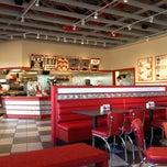 Photo taken at Freddy's Frozen Custard & Steakburgers by Eric H. on 1/9/2012