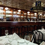 Photo taken at Brabant Belgian Brasserie by Eric L. on 2/20/2012
