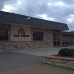 Photo taken at Fort Gibson High School by James P. on 1/31/2012