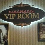 Photo taken at Cinemark Palace by DjIbedat on 11/9/2011