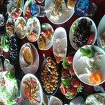 Photo taken at Köy Konağı by Cansu T. on 12/24/2011
