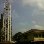 Photo taken at Gereja Katolik Santa Monika by Fajar Sakti A. on 4/15/2012