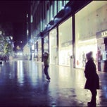 Photo taken at Spinningfields Square by Vince E. on 11/4/2011