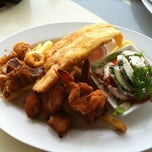 Photo taken at Aristos Waterfront Rottnest Fish Cafe by steven B. on 11/9/2011
