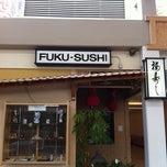 Photo taken at Fuku Sushi by that girl on 5/15/2012