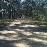 Photo taken at Shoal Creek Dog Park by Caitlyn B. on 1/19/2012