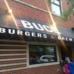 Photo taken at The Buck Burger's & Brew by Travisimo! on 8/10/2012