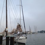 Photo taken at Deal Island Harbor by Cheryl N. on 9/3/2012