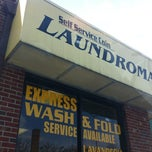 Photo taken at Columbia Pike Coin Laundromat by Chris A. on 3/15/2012
