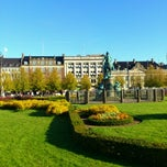 Photo taken at Kongens Nytorv by Eskild L. on 10/15/2011