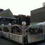 Photo taken at Damrosch Park by Elizabeth M. on 7/5/2012