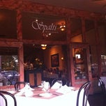 Photo taken at Spalti Ristorante by Ana Lucia N. on 9/28/2011