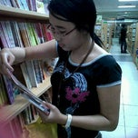 Photo taken at Gramedia by Agustine Senja P. on 9/25/2011