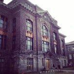 Photo taken at Bowne Hall by Ranon B. on 1/27/2012