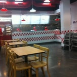 Photo taken at Five Guys by Jon B. on 9/15/2011