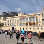 Photo taken at Palais de Monaco by Lutz D. on 5/15/2012