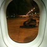 Photo taken at Gate 217 by Şeyda H. on 3/19/2012
