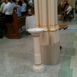 Photo taken at St. Mary's Catholic Church by Beth C. on 4/15/2012