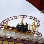 Photo taken at Wild Mouse by Chelsi D. on 6/6/2012