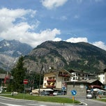 Photo taken at Courmayeur by Riccarda C. on 8/13/2012