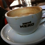 Photo taken at Caffè Nero by Erika T. on 4/14/2012