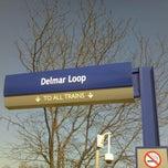 Photo taken at MetroLink - Delmar Loop Station by Patricia M. on 3/1/2012