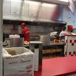 Photo taken at Five Guys by Jen K. on 7/29/2012