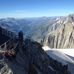 Photo taken at L'Aiguille du Midi (3842m) by Alexei Y. on 8/18/2012