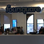 Photo taken at Foursquare HQ by Zucker B. on 4/18/2012