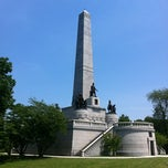 Photo taken at Lincoln Tomb State Historic Site by Becky on 5/24/2012