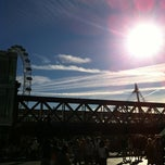 Photo taken at South Bank by Sam D. on 9/8/2012