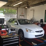 Photo taken at Valvoline Instant Oil Change by Terrance Kanye W. on 4/23/2012