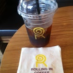 Photo taken at Rolling in Coffee by Shinjae C. on 6/4/2012