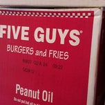 Photo taken at Five Guys by Candace T. on 3/3/2012