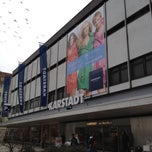 Photo taken at Karstadt by Heinrich S. on 3/13/2012