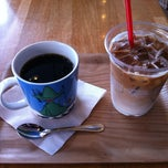 Photo taken at サザコーヒー 水戸駅店 by kenji on 7/16/2012