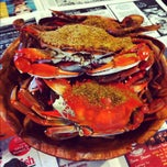 Photo taken at The Original Crab House by Mitchell N. on 7/28/2012