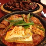 Photo taken at Soowon Galbi by Nathalie R. on 3/26/2012